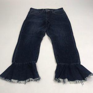 BlankNYC dark wash denim jeans. Size 30